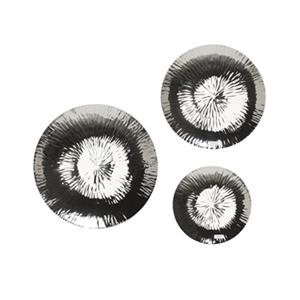 Home Gear Chimera Silver Plates Set Of 3