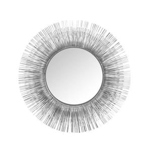Home Gear 35.2-in Silver Acadia Radiance Wall Mirror