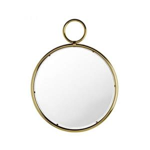 Home Gear 33.2-in Gold Caprice Pendant Wall Mirror