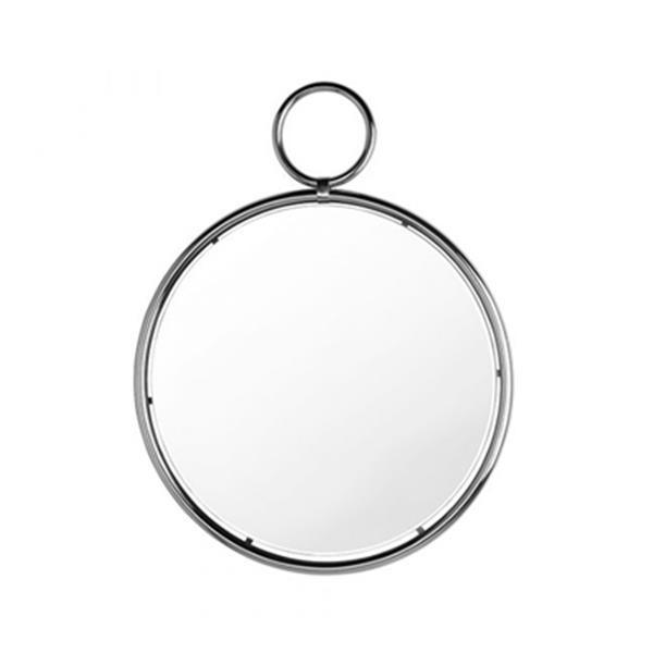 Home Gear 29.4-in Silver Caprice Pendant Wall Mirror