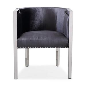 Home Gear Julio Velvet Accent Chair