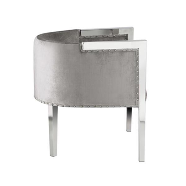 Home Gear Julio Velvet Accent Chair