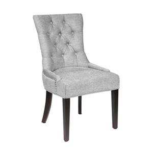 Home Gear Paris Platinum Fabric Dining Chair