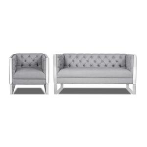 Home Gear Clover Settee and Chair Set