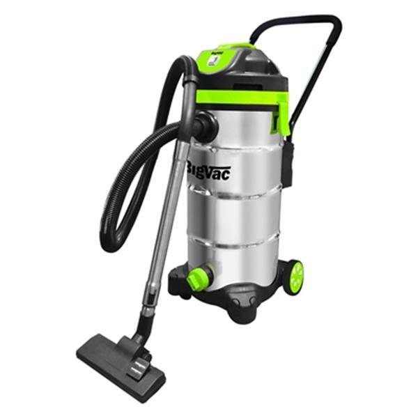 Big Vac 12-Gallon Wet/Dry Stainless Steel Vacuum