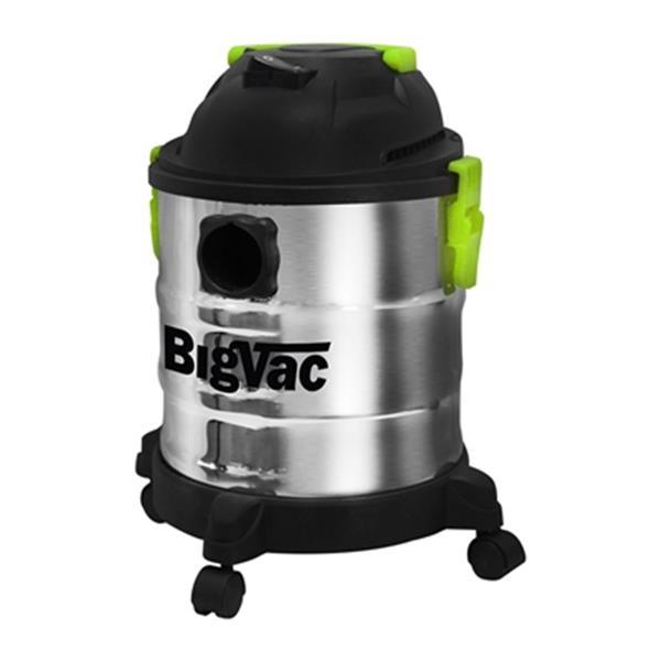 Big Vac 5-Gallon Stainless Steel Vacuum