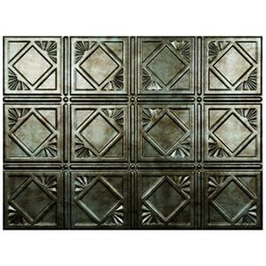 Restro Art Artnouvo Brown Backsplash Tiles Wall Paneling