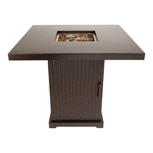 Pleasant Hearth Warren Gas Fire Pit Table