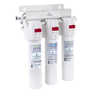 Vitapur 14.7-in White 3-Stage Quick Connect Reverse Osmosis Treatment System