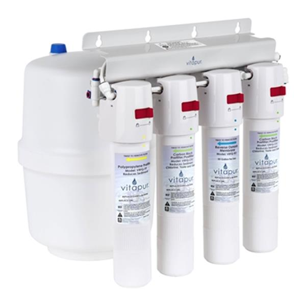 Vitapur 14.7-in White 4-Stage Quick Connect Reverse Osmosis Treatment System