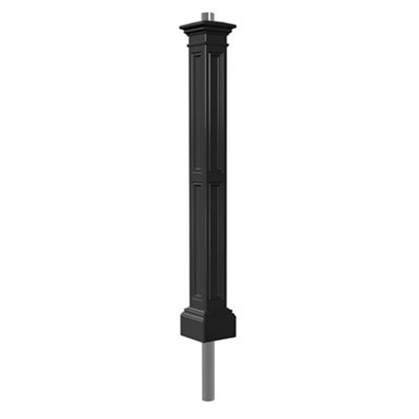 Mayne Liberty Decorative Lamp Post with Mount - Black