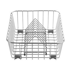 Blanco 16-in x 12-in Stainless Steel Crockery Basket And Stack