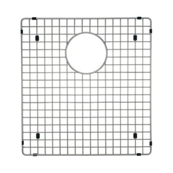 Blanco Precis 13.75-in x 17.75-in Stainless Steel Large Single Grid
