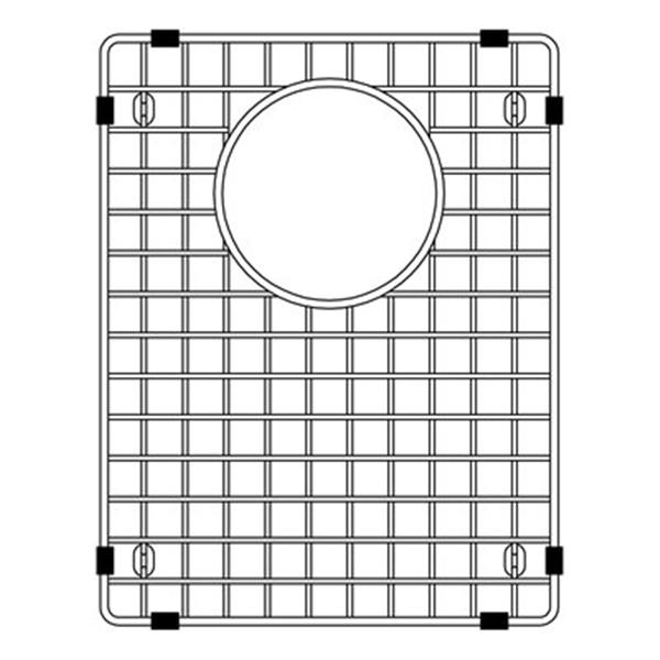Blanco Precis 13.75-in x 10.75-in Stainless Steel Sink Grid