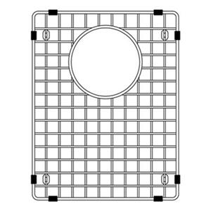 BLANCO Canada Precis 13.75-in x 10.75-in Stainless Steel Sink Grid