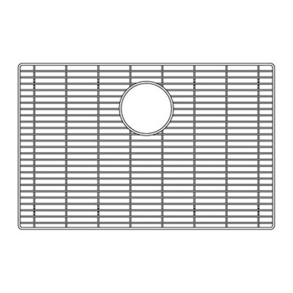 BLANCO Canada Attika 17-in x 25.5-in Stainless Steel Sink Grid
