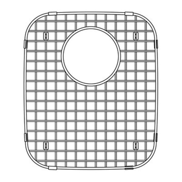 BLANCO Canada Vienna 13.25-in x 12.75-in Stainless Steel Sink Grid