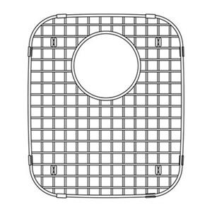 Blanco 13.75-in x 12-in Stainless Steel Sink Grid