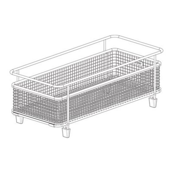Blanco 14.25-in x 6.75-in Stainless Steel Precis With Drainboard Basket