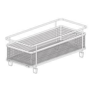 BLANCO Canada 14.25-in x 6.75-in Stainless Steel Precis With Drainboard Basket