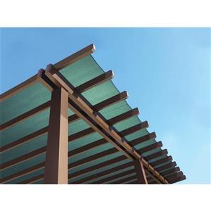 ShelterLogic Outdoor Shade Cloth - 6-ft x 25-ft - Evergreen