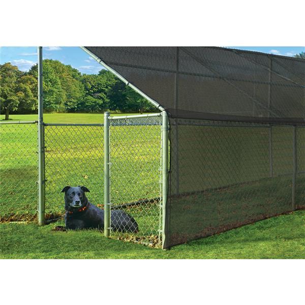 ShelterLogic Outdoor Shade Cloth - 6-ft x 25-ft - Black