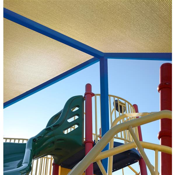 ShelterLogic Outdoor Shade Cloth - 6-ft x 50-ft - Sand