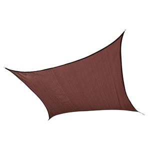 ShelterLogic 12-ft x 12-ft Terracotta Heavyweight Polyethelene Square Sun Shade Sail