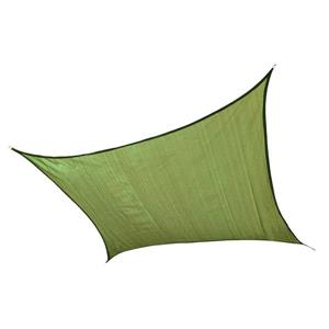 ShelterLogic 16-ft x 16-ft Lime Green Heavyweight Polyethelene Square Sun Shade Sail