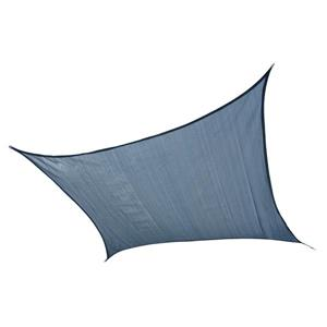 ShelterLogic Shade Sail Heavyweight Square - 16-ft x 16-ft - Sea Blue