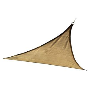 ShelterLogic Outdoor Shade Sail Triangle - 12-ft x 12-ft - Sand