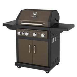 Dyna-Glo Gas Grill with Side Burner - 48,000 BTU - Bronze