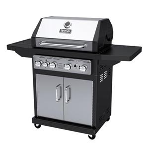 Dyna-Glo 4-Burner Gas Grill with Side Burner - 48,000 BTU