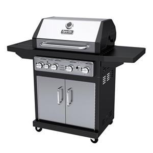 Barbecue au gaz à 4 brûleurs avec brûleur latéral, 48 000BTU