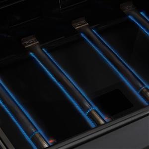 4-Burner Natural Gas Grill with Side Burner - 48,000 BTU