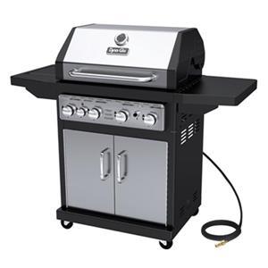 Barbecue au gaz naturel avec brûleur latéral, 48 000 BTU