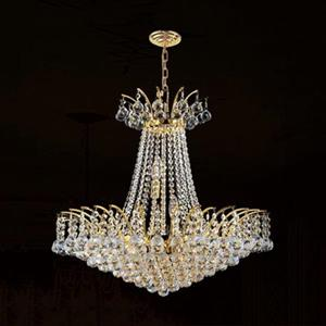 Worldwide Lighting Empire 11-Light Gold Chandelier