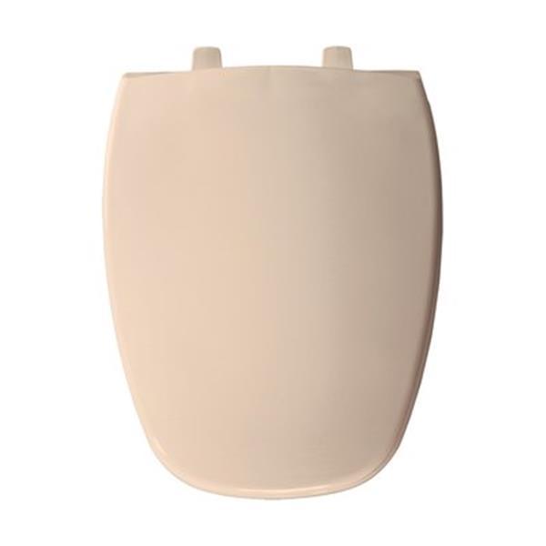 Bemis Emblem Elongated Natural Plastic Seat