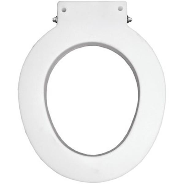 Bemis Round 4-in Lift Spacer White Plastic Toilet Seat
