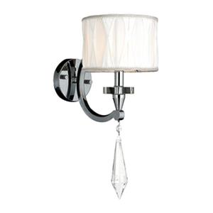 Worldwide Lighting Cutlass Collection Polished Chrome Single Light Wall Sconce