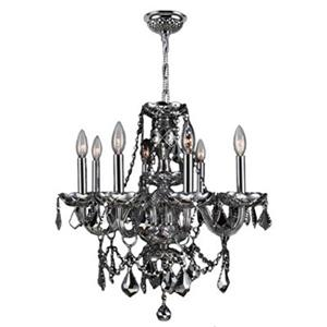 Worldwide Lighting Provence 8-Light Crystal Chandelier,W8310