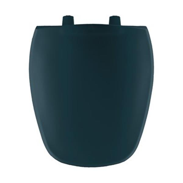 Bemis Round Plastic Green Toilet Seat