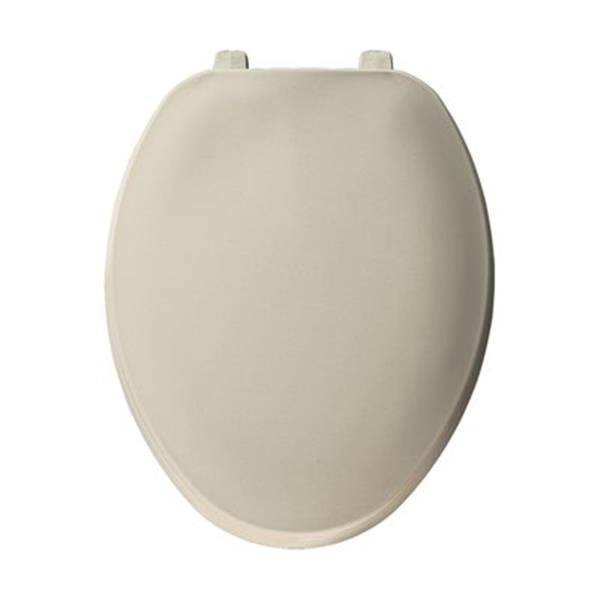 Bemis Elongated Bone Plastic Toilet Seat