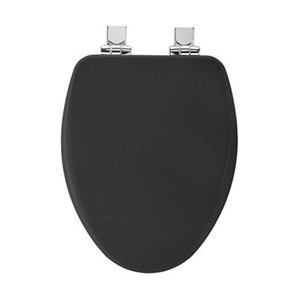Awesome Bemis Elongated High Densitytrade Molded Wood Black Toilet Customarchery Wood Chair Design Ideas Customarcherynet