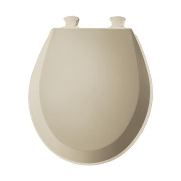 Bemis Round Molded Wood Bone Toilet Seat