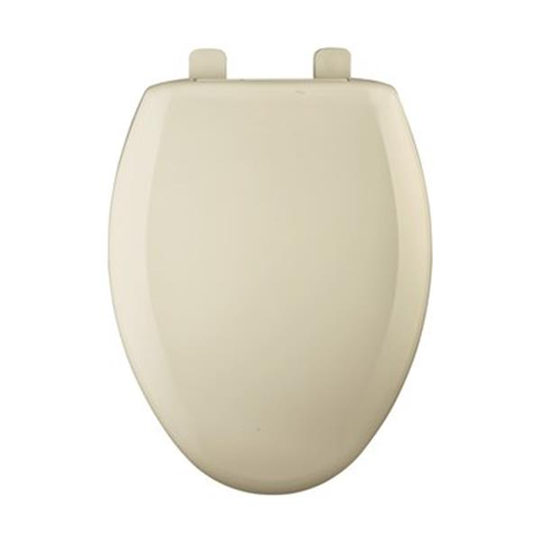 Bemis Elongated Slow-Close Bone Plastic Toilet Seat