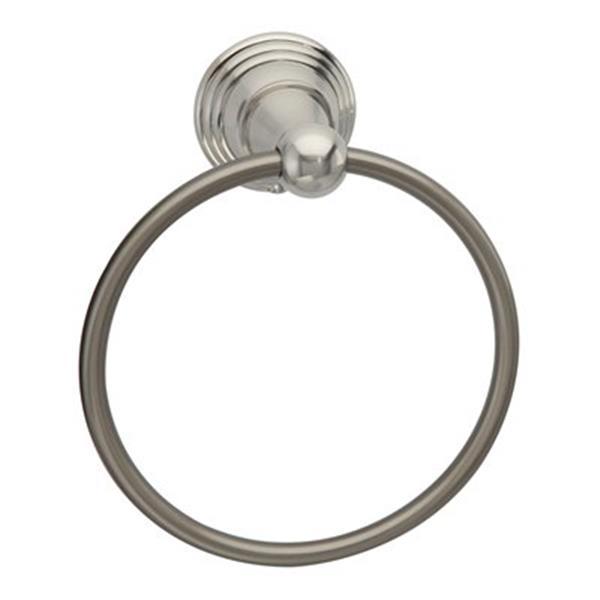Taymor Belcarra Satin Nickel Towel Ring