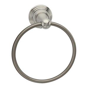 Taymor Belcarra Satin Nickel Towel Ring