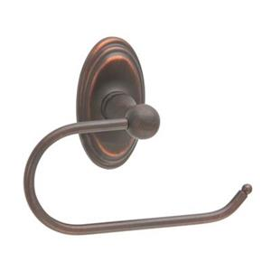 Taymor Bella 6.5-in Aged Bronze Nova Euro Toilet Paper/Towel Holder
