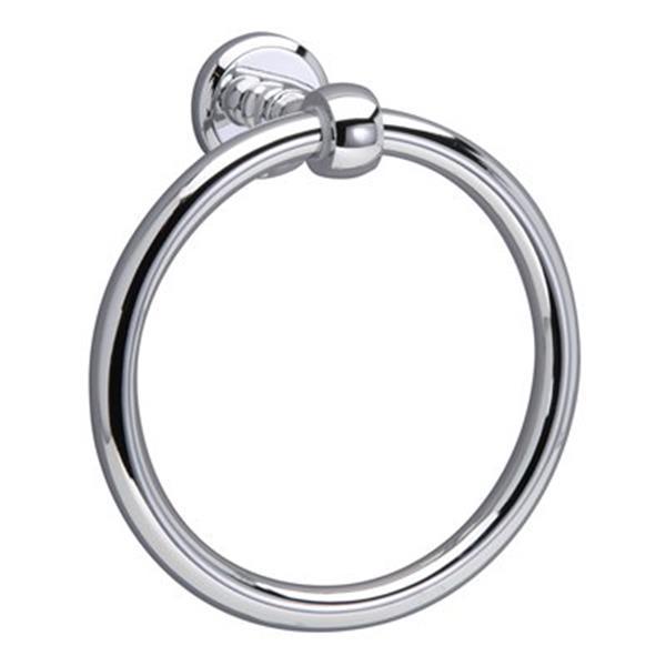 Taymor Désirée Polished Chrome Towel Ring